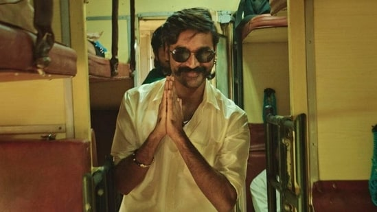 Dhanush plays the lead in Jagame Thandhiram.