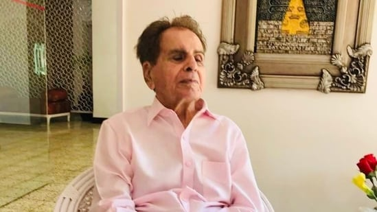 Dilip Kumar is admitted to the PD Hinduja hospital in Mumbai on Sunday.