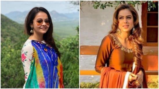Devoleena Bhattacharjee and Nia Sharma.