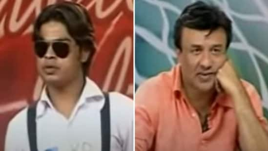 Shanawaz Kabir Khan, who called himself 'Kolkata's Shah Rukh Khan', mimicked Anu Malik during his Indian Idol audition.