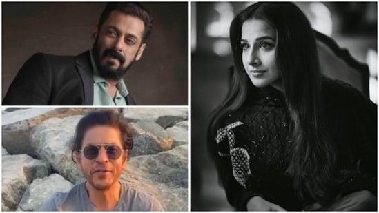 A fan asked Vidya Balan to choose between Shah Rukh Khan and Salman Khan.