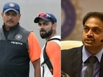 MSK Prasad has revealed that he would often not see eye to eye with captain Virat Kohli and coach Ravi Shastri. (Getty Images)