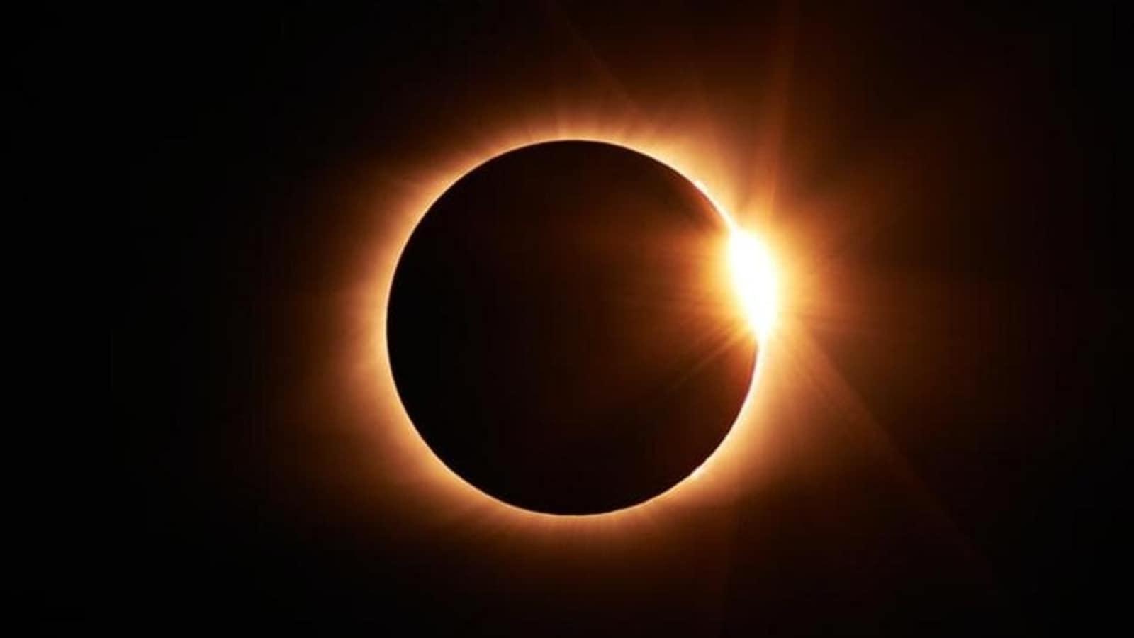சூரிய கிரகணம் .solar eclipse 2021