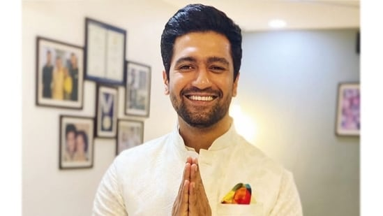 Vicky Kaushal shared a fun post on Instagram while getting a trim(File Photo)