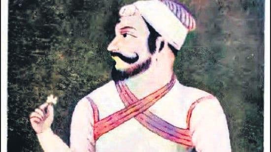 Shahaji Raje Bhonsale, father of Shivaji Maharaj . (William Darlymple/HT)