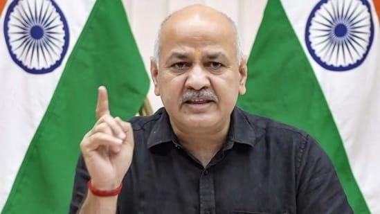 Deputy chief minister Manish Sisodia. (PTI)