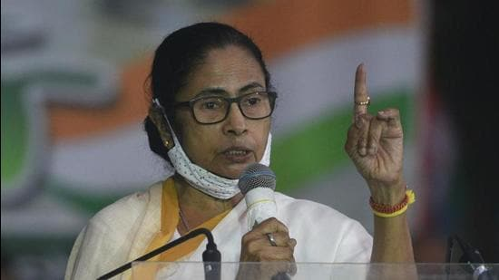 West Bengal chief minister Mamata Banerjee. (HT archive)