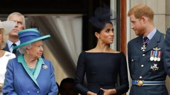 During an explosive interview with Oprah Winfrey, Prince Harry and Meghan Markle had first revealed they were expecting a daughter.(AP)