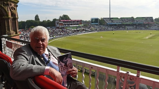 Farokh Engineer went to play County cricket in England in the early 1960s. (Getty Images)