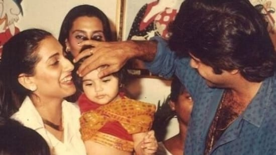 Sonam Kapoor celebrates her birthday on Wednesday and her dad, actor Anil Kapoor has shared throwback pics from her childhood.