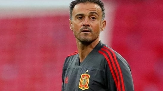 Luis Enrique during his stint as manager of Spain football team.(Getty Images)