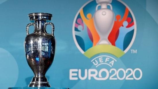 File Photo of UEFA Euro 2020 trophy.(REUTERS)