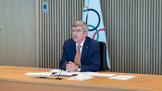 International Olympic Committee (IOC) President Thomas Bach.(via REUTERS)