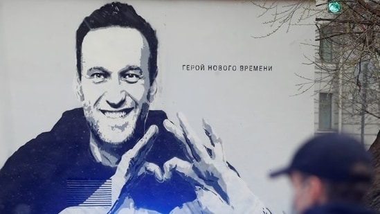 Currently, Navalny is serving a prison sentence for violating the terms of his suspended sentence in the 2014 Yves Rocher fraud case.(Reuters file photo)