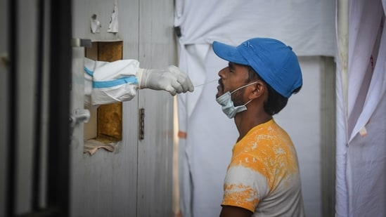 So far 20,042,178 samples have been tested in Delhi as of June 10.(HT Photo)
