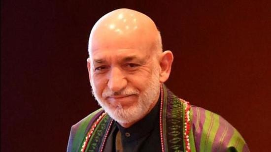 Former President of Afghanistan Hamid Karzai. (AFP)
