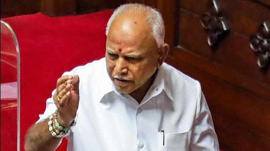Karnataka chief minister Minister BS Yediyurappa on Sunday said that he was willing to step down if the BJP leadership ordered him to do so, a remark that indicated he had received assurances from the party. (PTI)