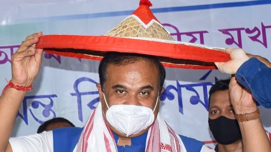Himanta Biswa Sarma said that land of Satras and temple will remain safe and Assam government will ensure that no one encroaches them. (PTI)