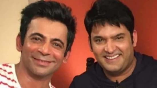 Sunil Grover and Kapil Sharma in happier times.