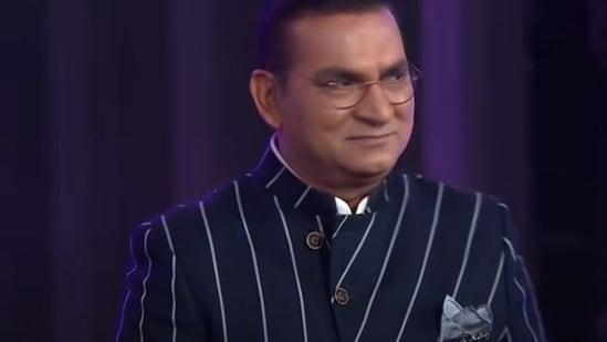 Abhijeet Bhattacharya on Indian Idol 12.