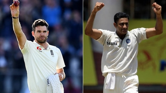 James Anderson surpassed Anil Kumble's scalps. (Getty Images)