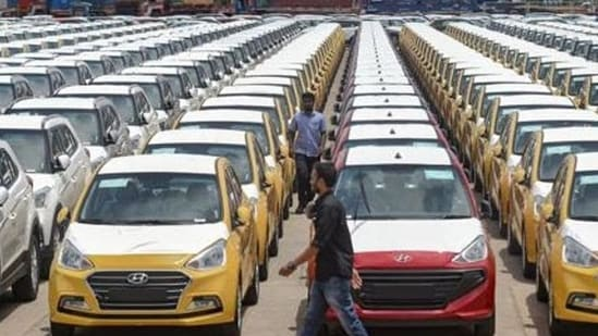 Some like Bajaj Auto Ltd, however, continued to operate with limited capacity to meet export orders. With a steady drop in infections, especially in north and south India, most automakers have resumed operations from the middle of May.(PTI)