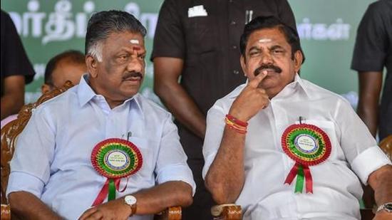 AIADMK's Edappadi K. Palaniswami and O Panneerselvam (PTI)