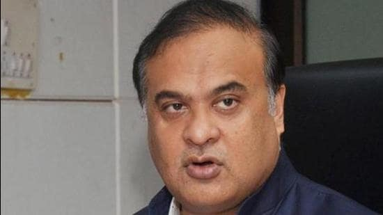 Guwahati: Assam Health and Education Minister Himanta Biswa Sarma addresses a press conference announcing complete lockdown for 14-days starting from June 28, due to surge in COVID-19 cases, in Guwahati, Friday, June 26, 2020. (PTI Photo)(PTI26-06-2020_000072B) (PTI)