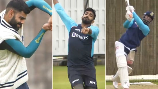 India's cricketers got in the groove ahead of the WTC final. (BCCI/Screengrab)