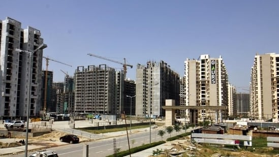 Also, about 95% of developers expect inevitable delays in projects due to labour shortages and delays in securing approvals.(Sanchit Khanna/HT file photo. Representative image)