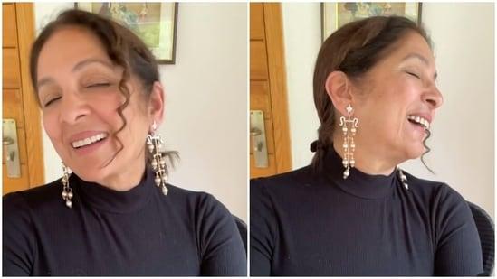Neena Gupta shared a new video on Instagram.