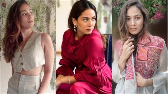 Mira Rajput's 3 steamy fashion moments in crop top, pants to sizzle on next date(Instagram/mira.kapoor)