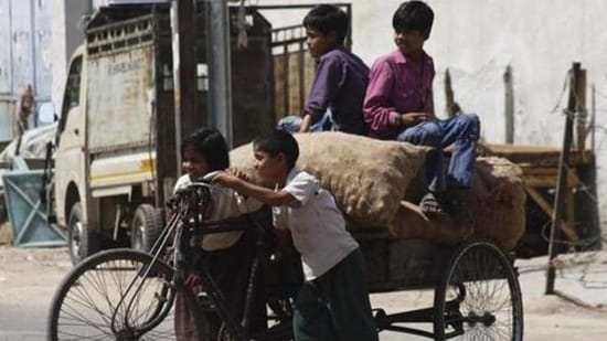 The number of child labourers increased to 160 million from 152 million in 2016.(File Photo. Representative image)