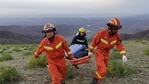 The investigators said the tragedy was a public safety incident brought about by extreme weather including high winds, heavy rain and plunging temperatures, as well as unprofessional organisation and operation. REUTERS(VIA REUTERS)