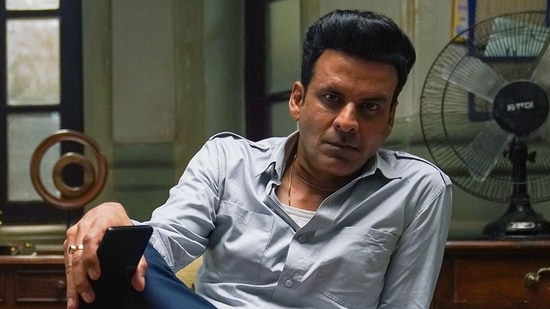 Manoj Bajpayee as Srikant Tiwari in The Family Man.