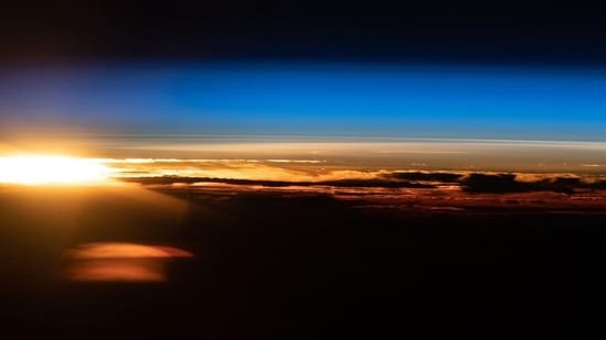 An orbital sunrise is pictured above the Indian Ocean off the coast of Western Australia from the International Space Station.(Instagram/@iss)
