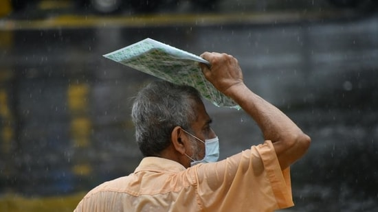 Maximum city Mumbai witnessed an increase in the daily count after 696 cases were recorded in the last 24 hours (ANI)