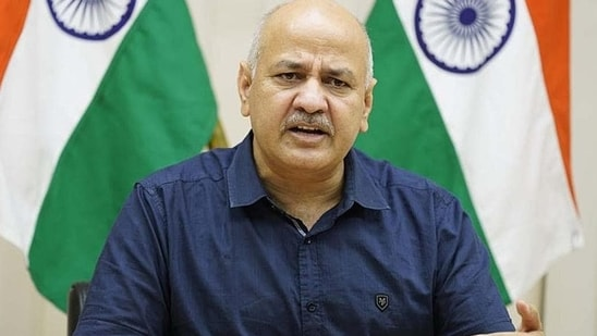 Deputy chief minister of Delhi Manish Sisodia. (HT file)