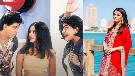 Karan Johar had once offered the role of Tina from Kuch Kuch Hota Hai to Aishwarya Rai. Rani Mukherji eventually essayed the role.