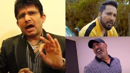 Kamaal R Khan, aka KRK, has reacted to Mika Singh's diss track on him. The music video also features Vindu Dara Singh.