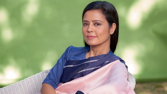 Parliamentarian Mahua Moitra for Harper's Bazaar India(Instagram/Harper's Bazaar India)