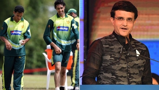 Sourav Ganguly attended a former Pakistan fast bowler's wedding while many other cricketers did not come. (Getty Images)