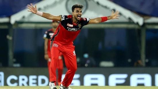 Royal Challengers Bangalore's Harshal Patel.(IPL)