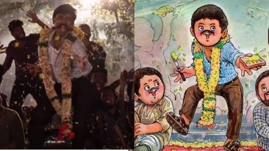Dhanush will play gangster Suruli in Jagame Thandhiram.