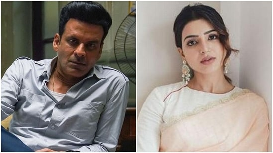 Manoj Bajpayee and Samantha Akkineni starred together in The Family Man 2.