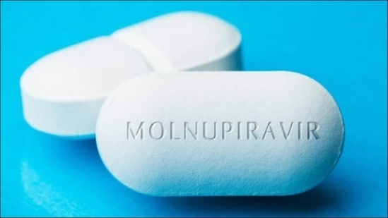 With such a rapid means of tackling the SARS-Cov-2 virus transmission, anti-Covid drug Molnupiravir can be a complete gamechanger in India's fight against the coronavirus disease pandemic, said the Indian Institute of Chemical Technology. (Photo via kaan_levin on Twitter)