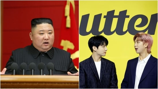 """The war against K-pop comes years after the North Korean leader was said to be """"deeply moved"""" following a performance by South Korean artists.(Reuters)"""