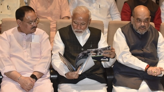 Prime Minister Narendra Modi is likely to expand his cabinet by the end of this month or early next month, ahead of the Monsoon Session of Parliament, Live Hindustan reported on Saturday.(Sonu Mehta/ Hindustan Times File Photo)