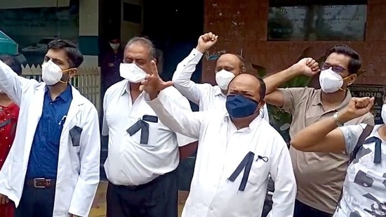 IMA highlighted that several doctors on Covid frontlines have been assaulted by kin of patients. (ANI Photo)