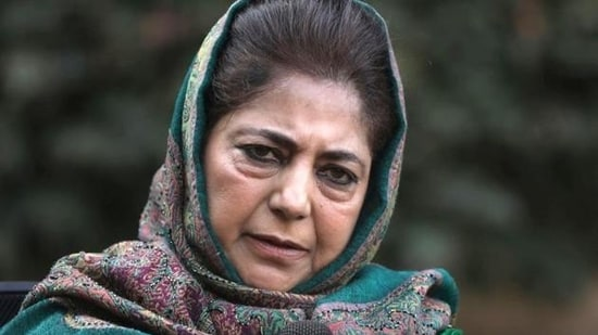 """""""Such attacks defame the people of Kashmir and only result in more force being used here in the name of terrorism,"""" PDP president Mehbooba Mufti said.(File Photo)"""